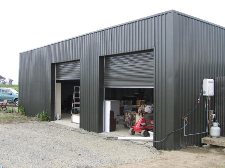 storage and workshop